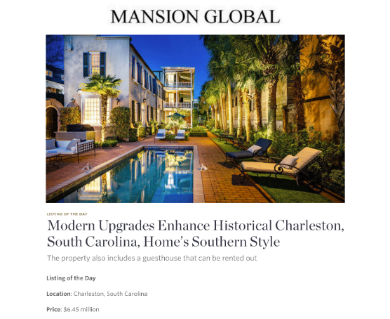 May 2019 Mansion Global Listing of the Day
