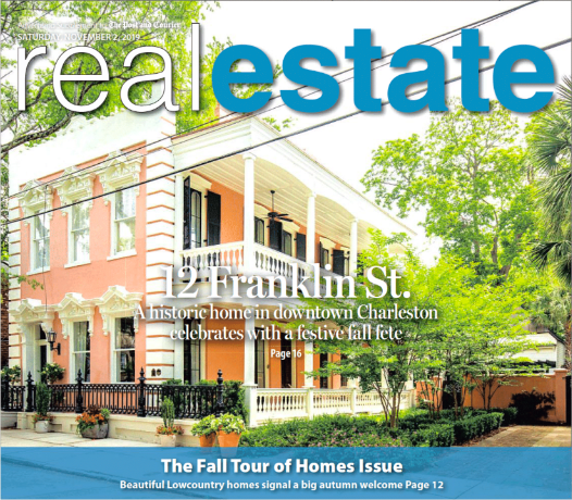 Post and Courier - Maison Real Estate's Fall Fete held at 12 Franklin
